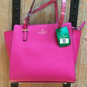 NWT Kate spade hot pink bag